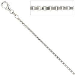 Venezianerkette 925 Silber 1,8 mm 70 cm Halskette Kette Silberkette Karabiner