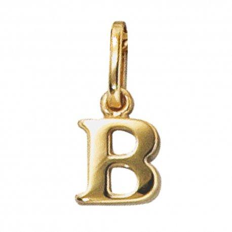 Anhänger Buchstabe B 333 Gold Gelbgold Buchstabenanhänger