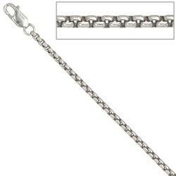 Venezianerkette 925 Sterling Silber 2,5 mm 50 cm Halskette Kette Karabiner