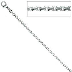 Ankerkette 925 Silber 2 mm 70 cm Halskette Kette Silberkette Karabiner