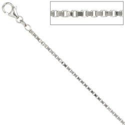 Venezianerkette 925 Silber 1,8 mm 80 cm Halskette Kette Silberkette Karabiner