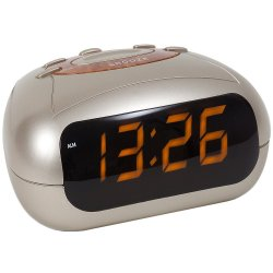 Atlanta 1137 Wecker Netzwecker digital LED-Anzeige Snooze Digitalwecker