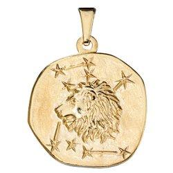 Anhänger Sternzeichen Löwe 333 Gold Gelbgold Sternzeichenanhänger