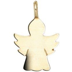 Kinder Anhänger Engel Schutzengel Engel 585 Gold Gelbgold Kinderanhänger