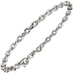 Ankerarmband 925 Sterling Silber diamantiert 21 cm Armband Silberarmband