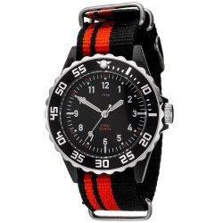 JOBO Kinder Armbanduhr Quarz Analog schwarz rot Kinderuhr