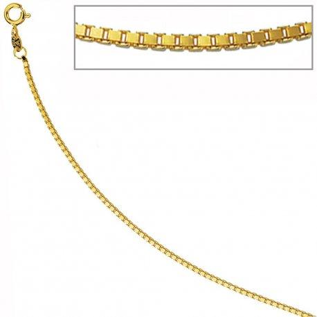 Venezianerkette 333 Gelbgold 1,5 mm 45 cm Gold Kette Halskette Goldkette