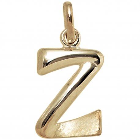 Anhänger Buchstabe Z 375 Gold Gelbgold Buchstabenanhänger